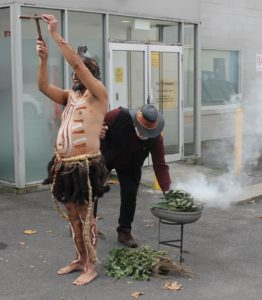 The Deadly Yakka launches in Warrnambool with a traditional Welcome to Country and Smoking Ceremony.