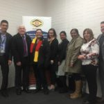 MatchWorks and ESG team members with special guests at the Deadly Yakka launch for Belconnen, ACT.