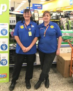 Store Manager Tanya and MatchWorks job seeker Bev.
