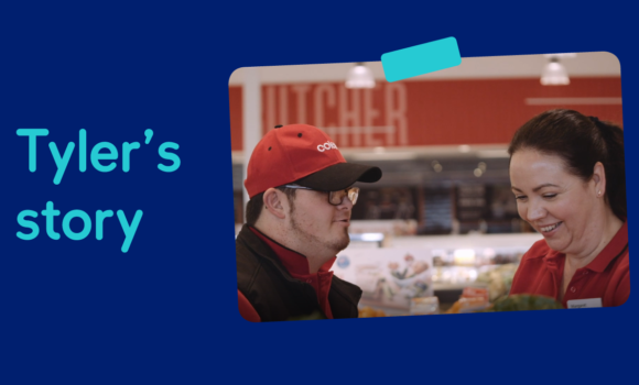 Tyler's story to finding his dream job at Coles