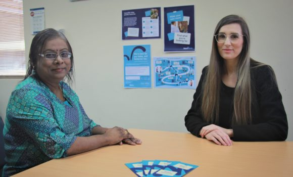 Senior Occupational Therapist, Suma, is part of the Mental Health Clinical Treatment Team who works closely with Employment Consultant Jordan to get people back to work as part of their recovery.